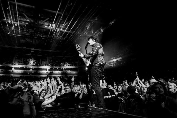 2017-01-28 - Green Day spelar på Malmö Arena, Malmö