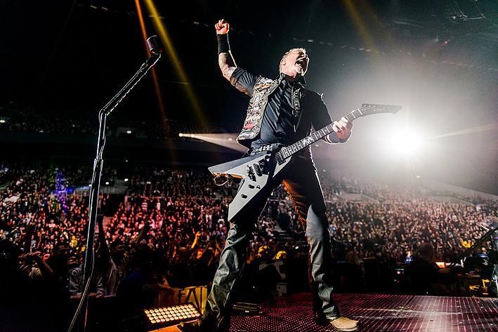 2017-02-09 - Metallica spelar på Royal Arena, Köpenhamn