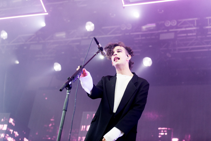 2017-06-12 - The 1975 performs at Gröna Lund, Stockholm