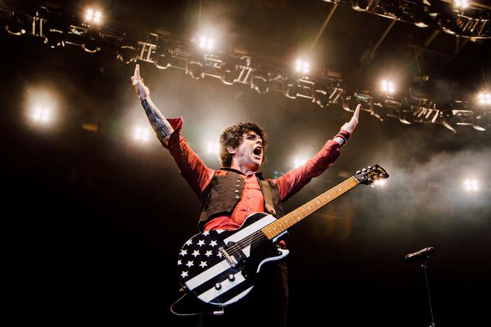 2017-06-21 - Green Day spelar på Scandinavium, Göteborg