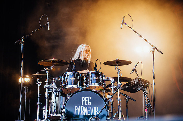 2017-07-14 - Peg Parnevik performs at Liseberg, Göteborg