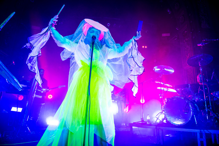 2017-10-22 - Little Dragon performs at Berns, Stockholm