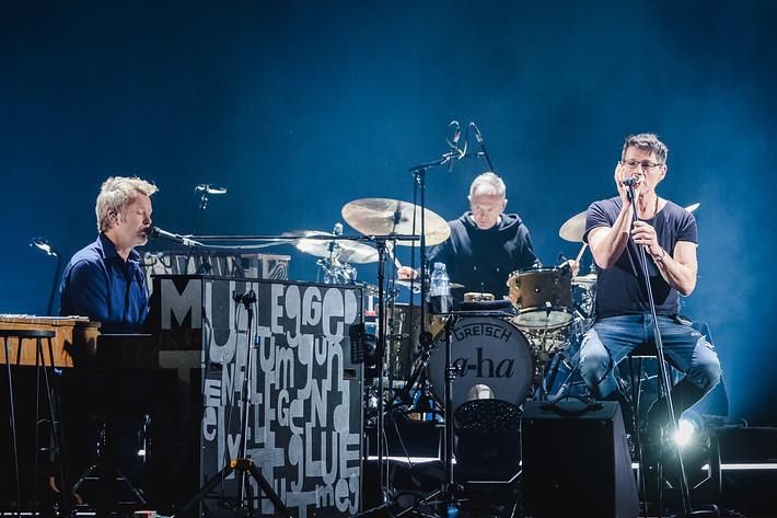 2018-02-05 - A-ha spelar på Hallenstadion, Zürich