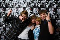 2008-06-27 - Rockfotostudion spelar på Peace & Love, Borlänge