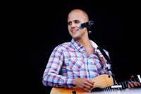 2009-06-26 - Milow spelar på Peace & Love, Borlänge
