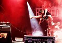 2009-06-27 - Raised Fist spelar på Peace & Love, Borlänge