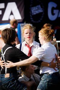 2010-07-02 - Områdesbilder performs at Peace & Love, Borlänge