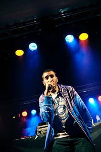 2010-07-29 - Mohammed Ali spelar på Storsjöyran, Östersund