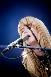 2010-08-14 - Anna von Hausswolff performs at Way Out West, Göteborg