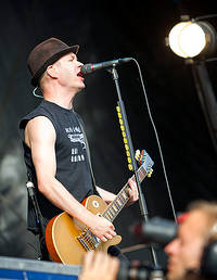 2011-06-16 - Sum 41 performs at West Coast Riot, Göteborg