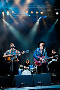 2011-06-29 - Serenades spelar på Peace & Love, Borlänge