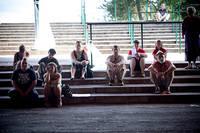 2011-06-30 - Carl-Johan Vallgren föreläsning spelar på Peace & Love, Borlänge