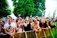 2011-06-30 - Ras Cricket & Leafy spelar på Peace & Love, Borlänge