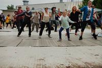 2011-07-02 - Indiegympa spelar på Peace & Love, Borlänge