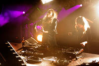 2012-02-11 - Rebecca & Fiona performs at Berns, Stockholm
