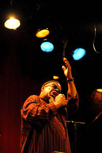 2012-04-01 - Dwight Trible performs at Fasching, Stockholm