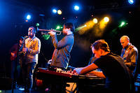 2012-04-04 - Goran Kajfes Subtropic Arkestra spelar på Debaser Hornstulls Strand, Stockholm