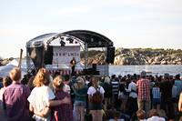 2012-05-26 - Säkert! spelar på Knarrholmen, Göteborg