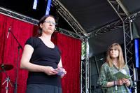 2012-06-27 - Vägen till vegoland, Djurens rätt spelar på Peace & Love, Borlänge