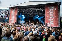 2012-06-29 - Deportees spelar på Peace & Love, Borlänge