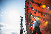 2013-07-05 - Turbonegro spelar på Roskildefestivalen, Roskilde