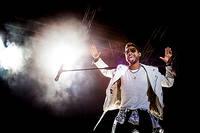 2013-08-09 - Miguel spelar på Way Out West, Göteborg