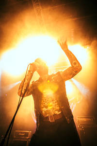 2014-11-02 - Turbonegro performs at Pustervik, Göteborg