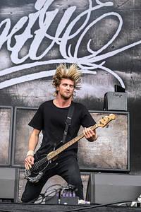 2015-06-11 - Parkway Drive spelar på Greenfield Festival, Interlaken