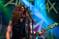 2016-07-15 - Anthrax performs at Gefle Metal Festival, Gävle