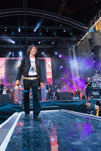 2017-07-15 - Håkan Hellström performs at Slottsruinen, Borgholm